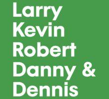 Larry Kevin Robert Danny & Dennis by mijumi