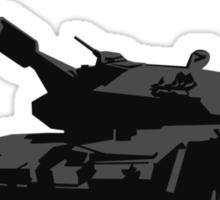 No Tanks! Sticker