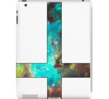 Green Galaxy Inverted Cross White iPad Case/Skin