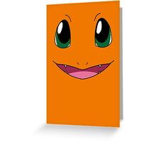 Charmander Face Greeting Card
