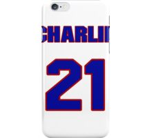 National baseball player Charlie Metro jersey 21 iPhone Case/Skin