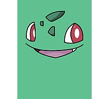 Bulbasaur Face Photographic Print