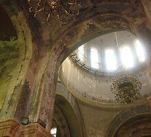 Central Dome St. Sophia's - Harbin Manchuria 2003 by Roger Smith