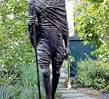 Mahatma Gandhi by Sassafras
