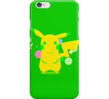 Pokemon - Green Pikachu iPhone Case/Skin