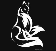 Shy Kitsune II by rhpotter