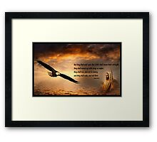 Wait Upon The Lord Framed Print