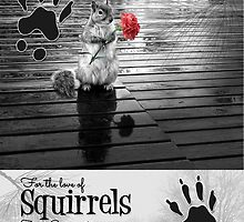 for the Love of Squirrels Calendar by Doreen Erhardt