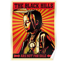 THE BLACK HILLS ARE NOT FOR SALE Poster