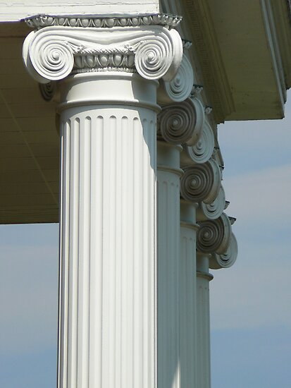 Livingstone Columns by Sheila Simpson