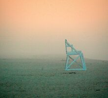 Life Guard Chair, National Seashore, Cape Cod by fauselr