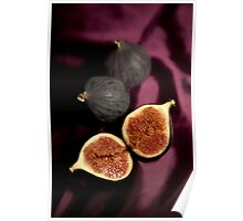 Still life with figs Poster