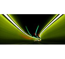 The Tunnel of Lights Photographic Print