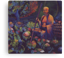 Guarding the Spirits of Lost Children Canvas Print
