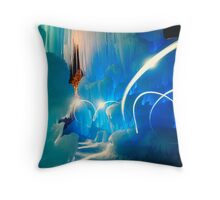 I was in another world Throw Pillow