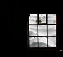 Snow through the window by rgtmum