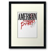 American Beauty / American Psycho - Fall Out Boy  Framed Print