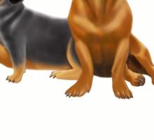 Dachshund Doxie Dogs Sticker