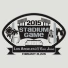 2015 LA Stadium Game - Black Text by theroyalhalf