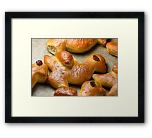 Sweet Persuaders for Saint Martin's Day  Framed Print