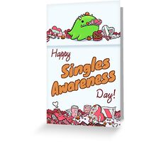 Singles Awareness Day Greeting Card