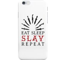Eat Sleep SLAY Repeat iPhone Case/Skin