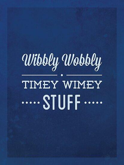 Wibbly Wobbly Timey Wimey by malia92