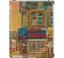 CANADIAN CITY SCENES MONTREAL ART BY CANADIAN ARTIST CAROLE SPANDAU iPad Case/Skin