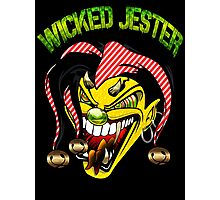 "Custom Funny Art ""Wicked Jester"" new Photographic Print"