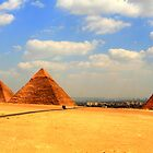 The Giza Plateau by Justin Hook