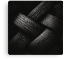 Tyre Plait Canvas Print