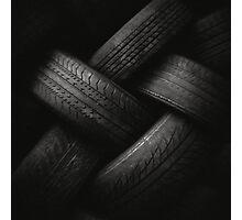 Tyre Plait Photographic Print