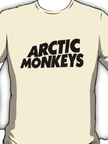 Arctic Monkeys Black logo AM T-Shirt