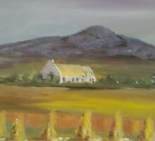 """Golden Memories"" (11 x 8 inches) by Pauline Dunleavy"