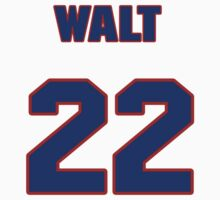 National baseball player Walt Weiss jersey 22 by imsport