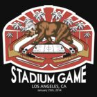 OC Stadium Game T-Shirt (White Text) by theroyalhalf