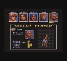 Streets of Rage 3 – Select Roo by PonchTheOwl