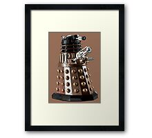 Once a Dalek, Always a Dalek Framed Print
