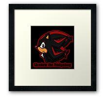 Shadow the Hedgehog -bust- Framed Print