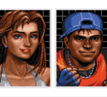 Streets of Rage 3 – Character Bio Pictures Sticker