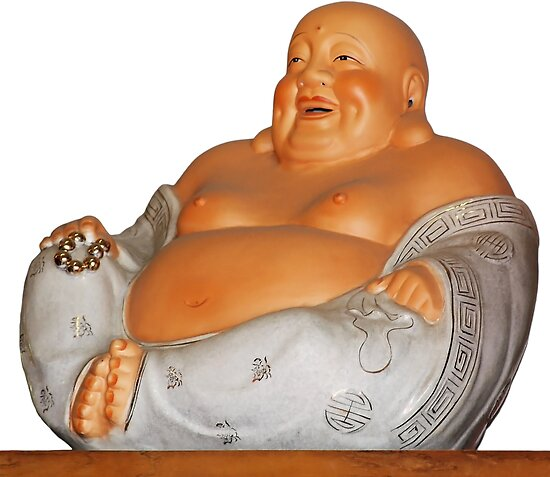 Laughing Buddha by Christine Till  @    CT-Graphics