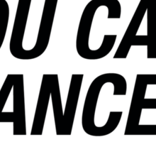 Trust Me Yo Can Dance - Vodka Sticker