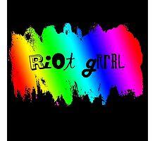 Rainbow Riot Photographic Print