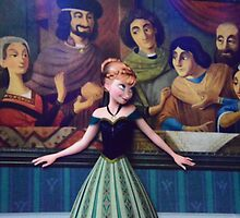Disney Princess Anna Frozen First Time In Forever by notheothereye