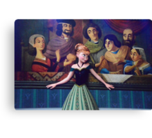 Disney Princess Anna Frozen First Time In Forever Canvas Print