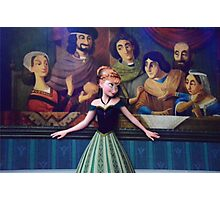 Disney Princess Anna Frozen First Time In Forever Photographic Print