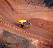 Pilbara - Haul Truck - Tom Price by Caroline Scott