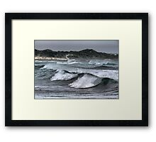 The King Island Current. Framed Print