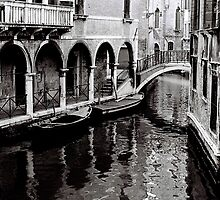 Quiet Canal by Venice
