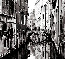Reflective Bridge by Venice
